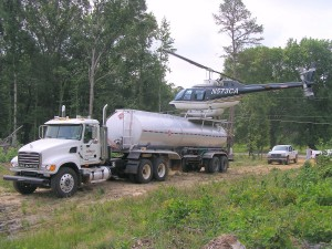 Aerial Application Services by Helicopter